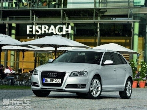 25.5万起 2012款奥迪A3 Sportback上市