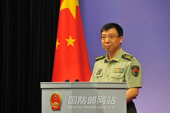 国防部发言人耿雁生就日本2011年版《防卫白