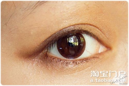 鱼尾眼线的画法步骤图片