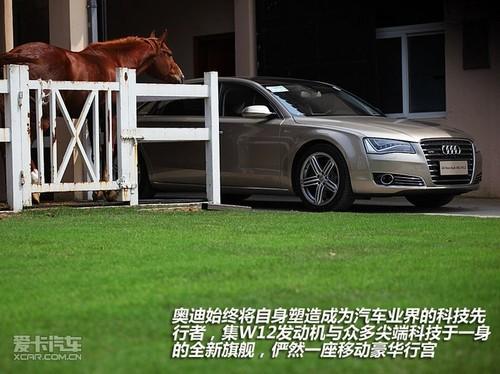 全新奥迪A8 W12汽车