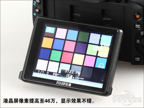 富士HS22 EXR的翻转式显示屏