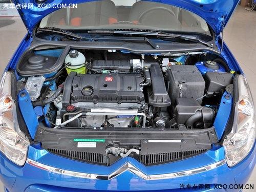 雪铁龙c2 1.6l车型发动机舱