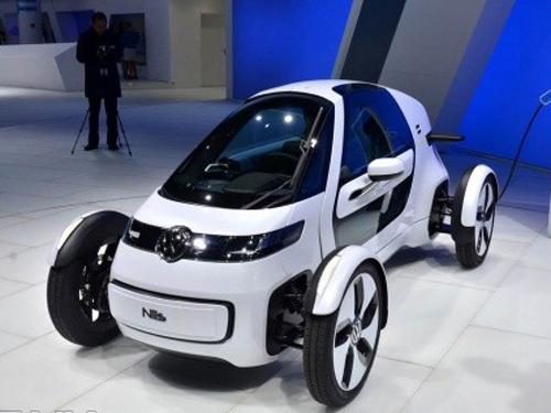 2011法兰克福车展 大众nils概念车发布-汽车频道-和讯
