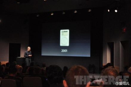 "Tim Cook:""iPod已经售出3亿部。索尼花了三十年才卖掉22万部Walkman磁带机"""