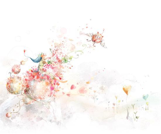 清新淡雅风格 android手绘主题壁纸集