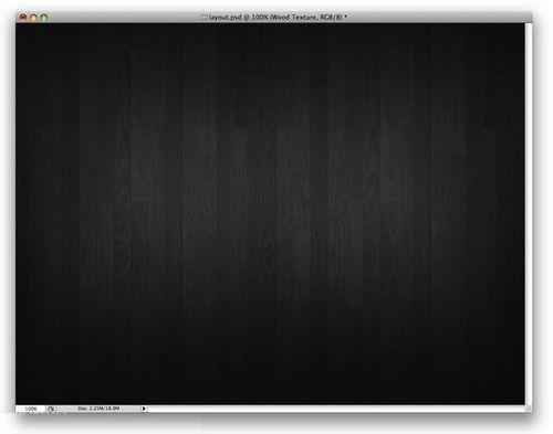 炫酷黑色长方形边框