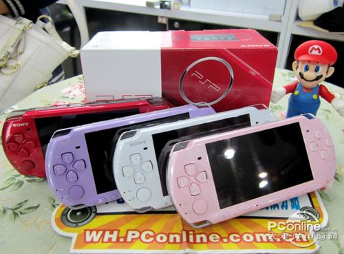 多彩机身玩过瘾 索尼PSP3000售969元