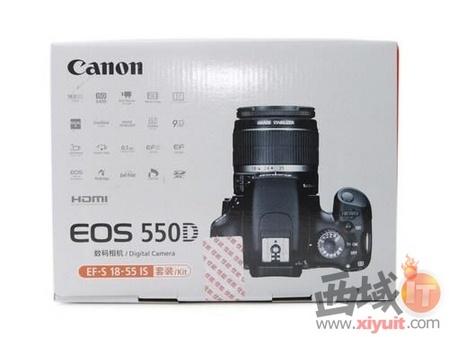 佳能EOS 550D 数码单反相机-18 55mm套机成都热卖 佳能550D售4300