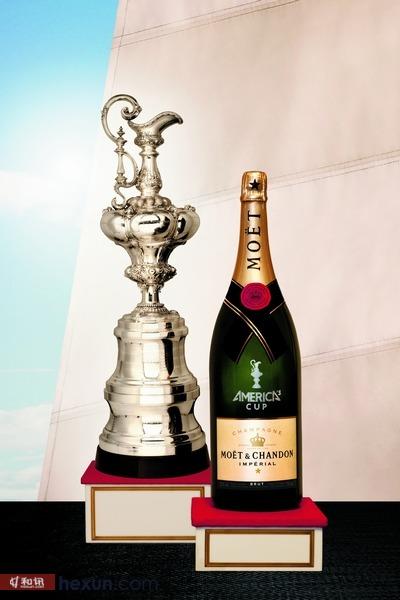 酩悦香槟荣膺第34届美洲杯帆船赛官方指定香槟