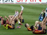 西班牙备战与中国队友谊赛