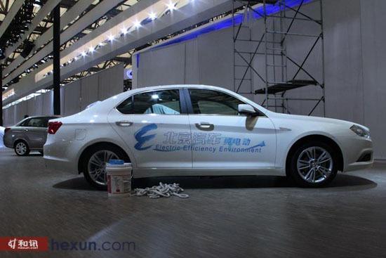 北汽绅宝电动车-和讯汽车探营上海车展 新车豪车将亮相高清图片