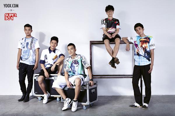YOOX 邀请时装设计师周翔宇打造快男独家定制T恤-