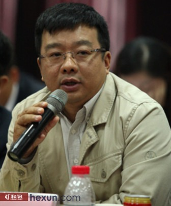 三全董事长陈楠与会回答代表提问