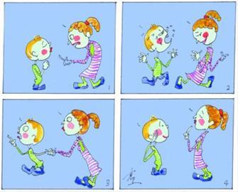 儿童周末作息手绘版