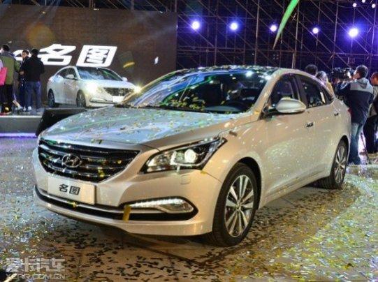 北京现代 名图 现 车 优惠3万 售全国 颜色齐全 汽 高清图片