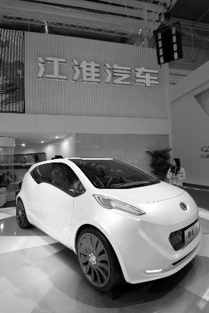 先行者江淮领跑国内电动车店的名片情趣做怎么图片