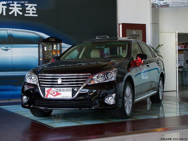 编辑点评:  一汽丰田皇冠是一款十分适合商务使用的车型,这款车
