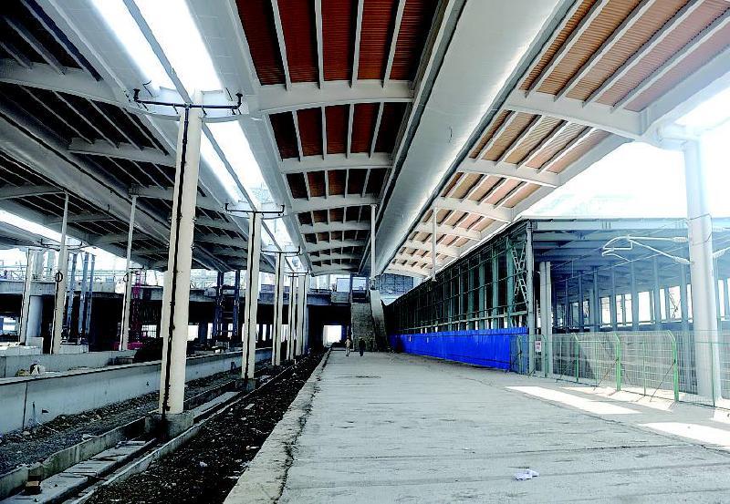 建成后将成为乌鲁木齐最大的火车客运站