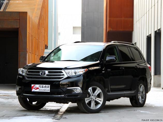 广汽丰田汉兰达现车销售 直降4万元现金高清图片
