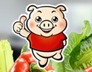 """""""百草猪""""社区生鲜O2O项目"""
