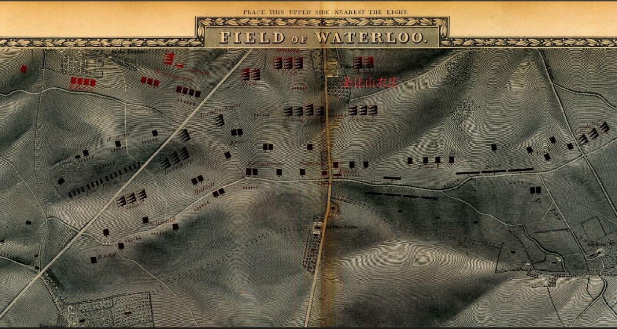 滑铁卢战役200周年:拿破仑填充的地图有致命错误cad超级使用何用如图片