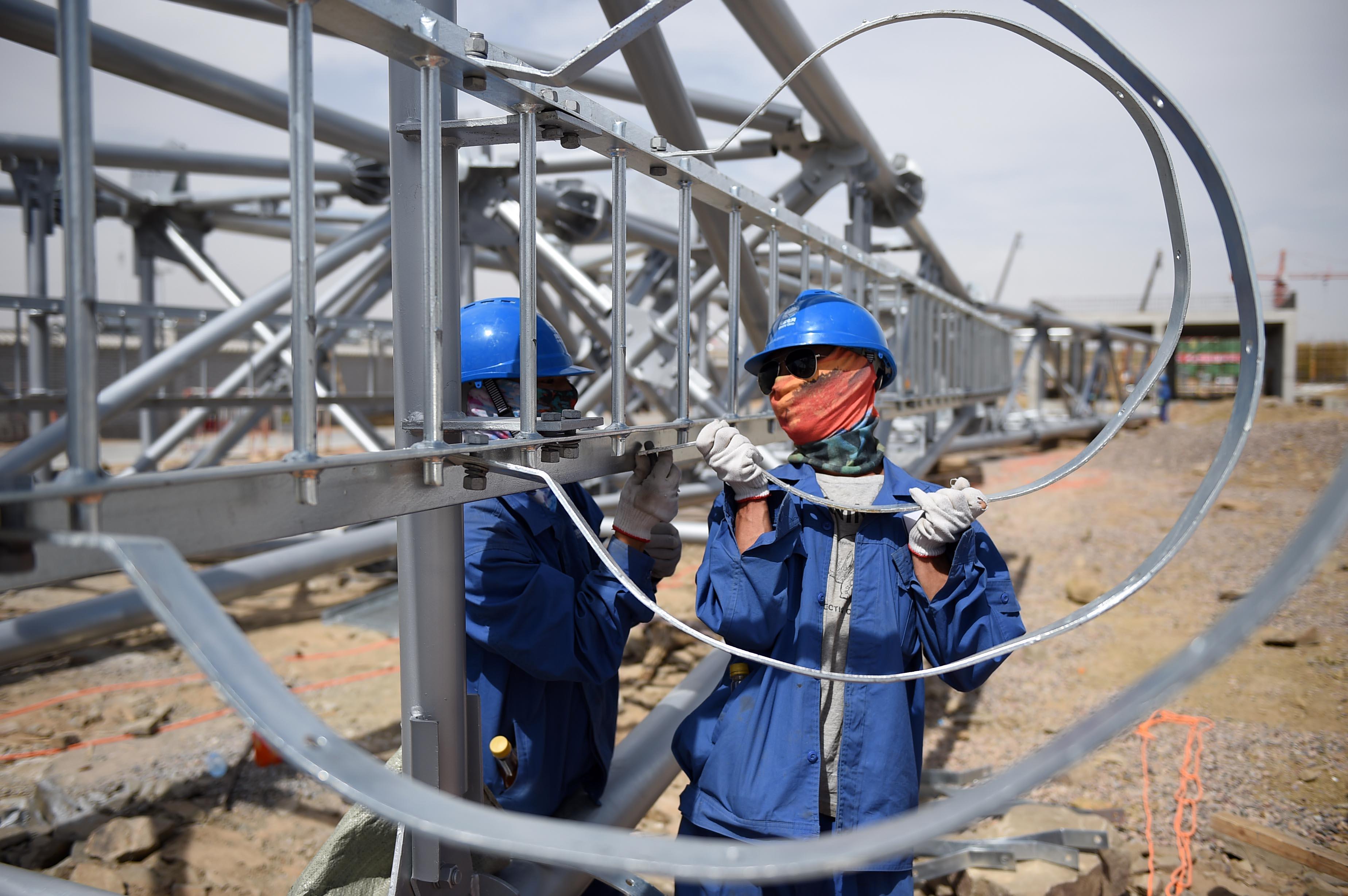 (锐视角)(1)宁东-浙江特高压直流输电工程加紧建设