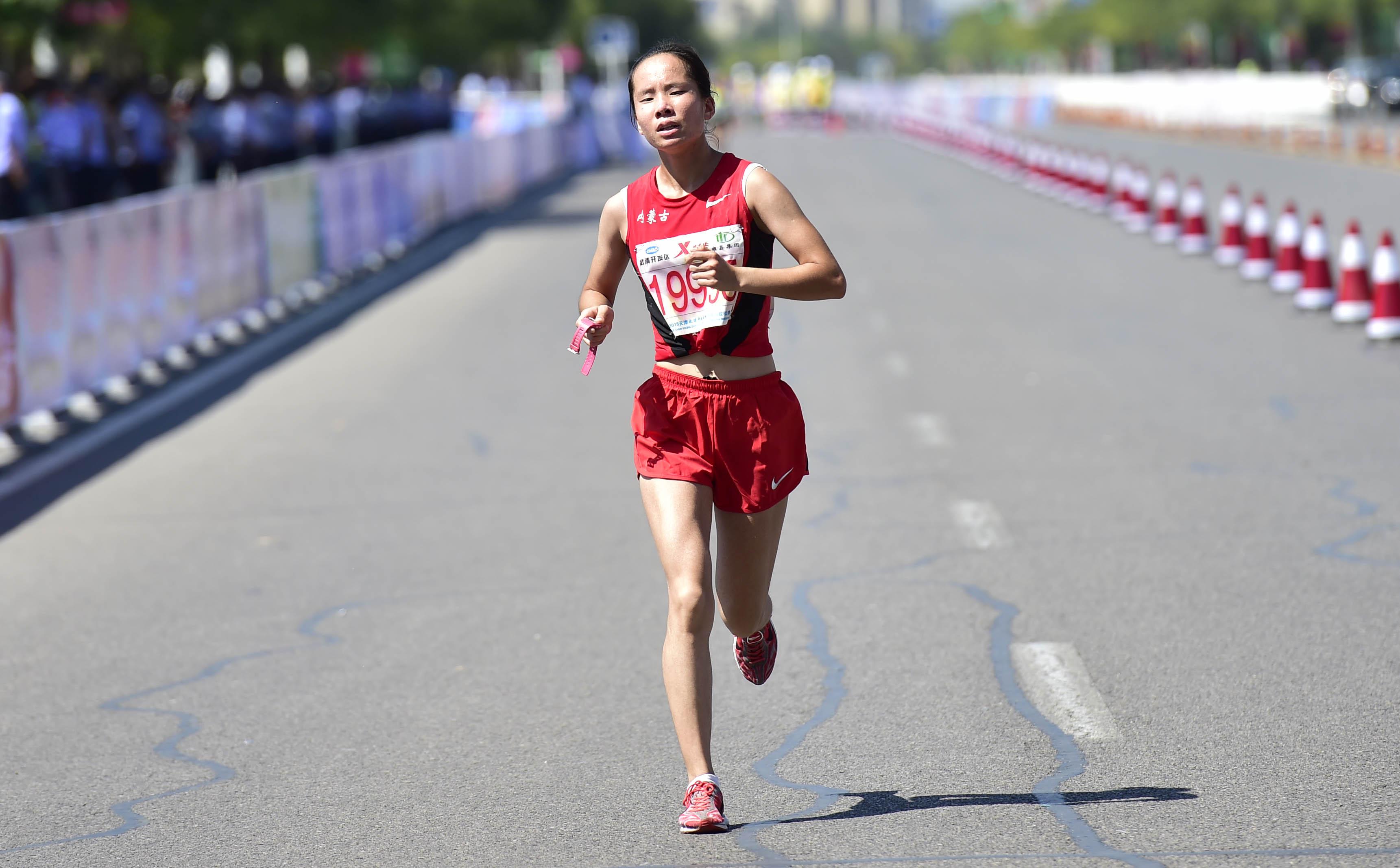 (锐视角)(1)马拉松——2015天津武清开发区杯国际马拉松赛赛况