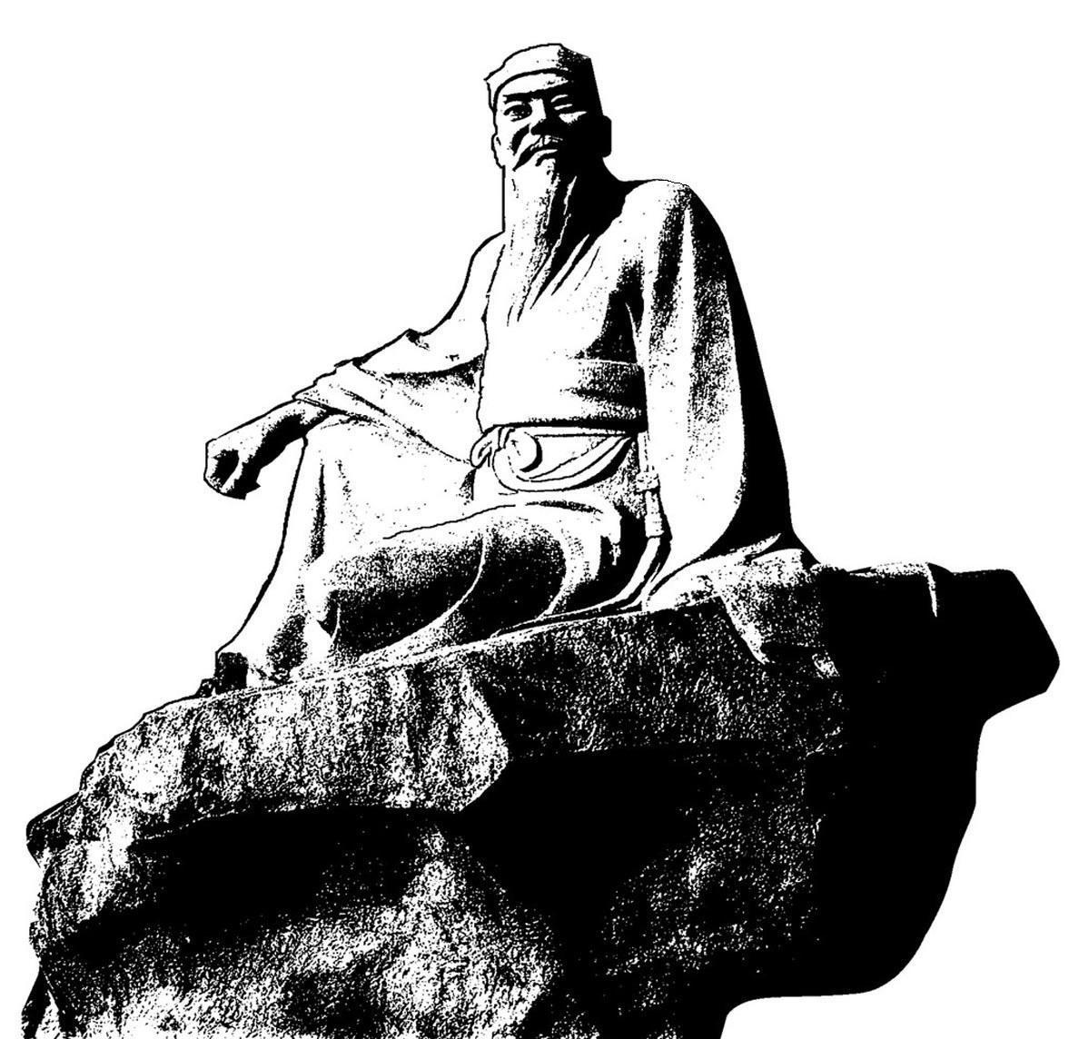 在字字千金的古代,东晋著名书法家王羲之也曾无心